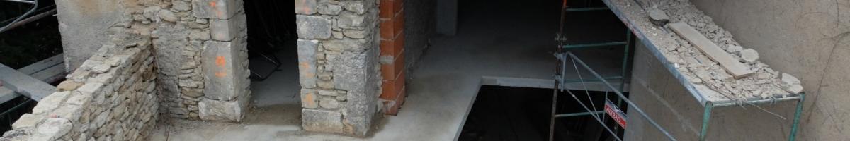 Rénovation complète d'un mas 04- Viguier maçonnerie à Apt, Bonnieux, Gargas, Gordes, Goult, Lacoste, Lourmarin, Maubec, Menerbes, Oppede, Roussillon, Rustrel, Saignon, St Saturnin, Villars en Luberon