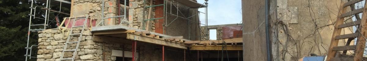Rénovation complète d'un mas 05- Viguier maçonnerie à Apt, Bonnieux, Gargas, Gordes, Goult, Lacoste, Lourmarin, Maubec, Menerbes, Oppede, Roussillon, Rustrel, Saignon, St Saturnin, Villars en Luberon