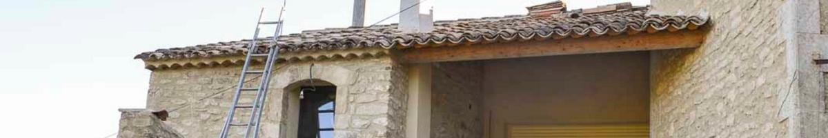 Rénovation complète d'un mas 07- Viguier maçonnerie à Apt, Bonnieux, Gargas, Gordes, Goult, Lacoste, Lourmarin, Maubec, Menerbes, Oppede, Roussillon, Rustrel, Saignon, St Saturnin, Villars en Luberon